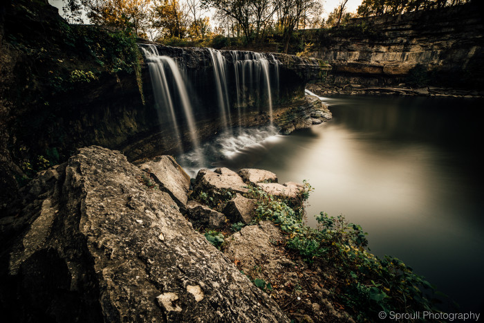 4. Can you believe how incredible these pictures of the Cataract Falls State Park are? Have you been to Spencer to check this out yet?
