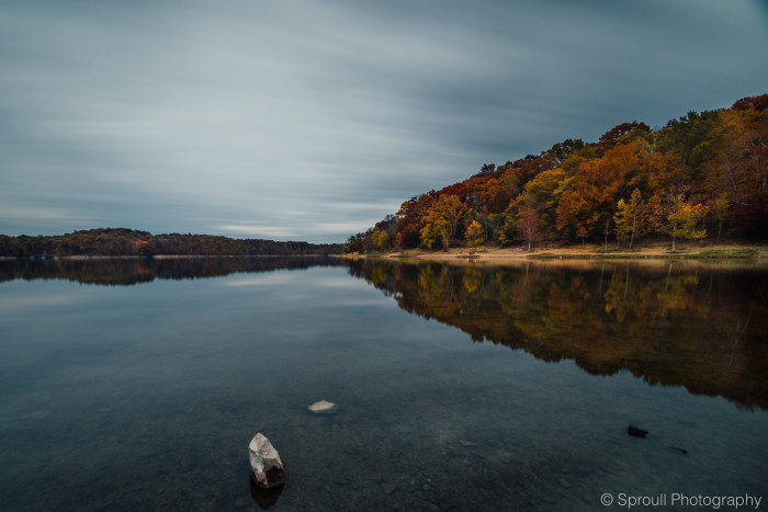 9. Here are two pretty incredible pictures of Lake Monroe located in Bloomington! The water just looks so peaceful.
