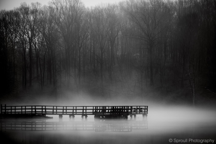 7. A hauntingly breathtaking shot of Ft. Benjamin Harrison State Park.