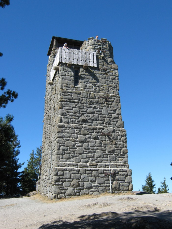 10. Mount Constitution Tower, Orcas Island