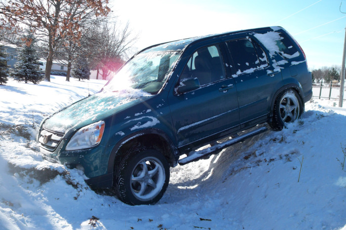 17.  People who don't put on snow tires.