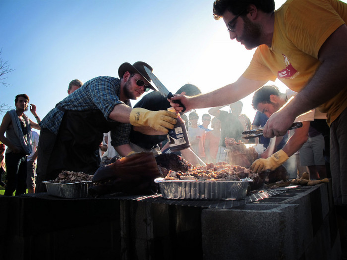 11. They understand that a good oyster roast or pig pickin' can cure most of the world's problems.