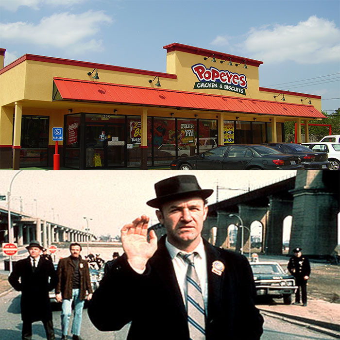 7) Popeyes Louisiana Kitchen is not named after the famous cartoon character of the same name.