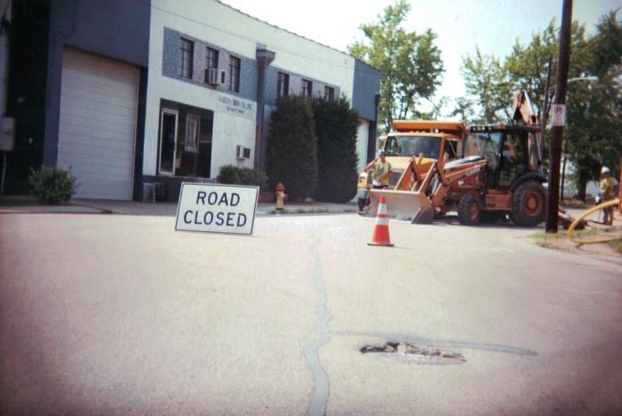 13. Pothole
