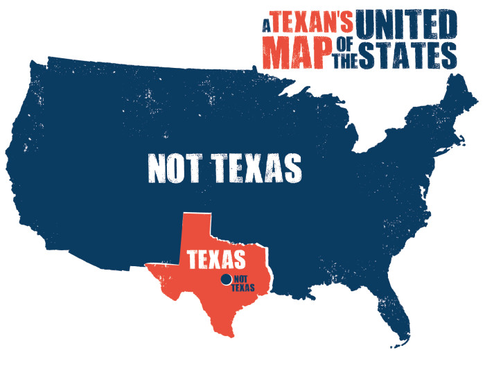 Funny United States Map.8 Funny Maps Of Texas