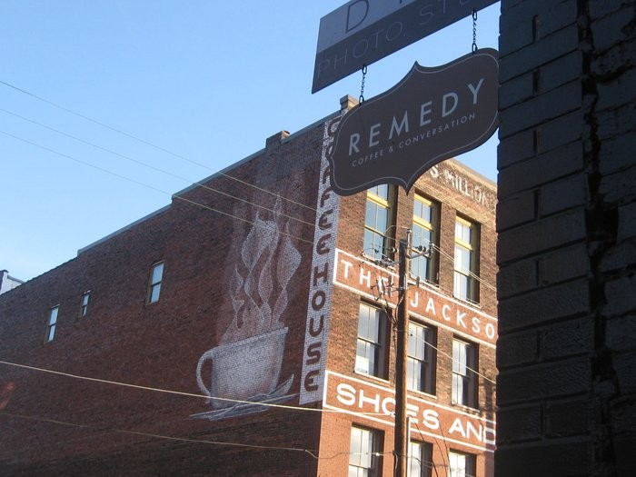 3) Remedy Coffee - Knoxville