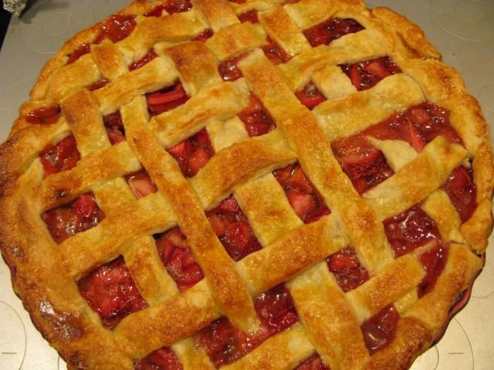 9. Rhubarb Pie