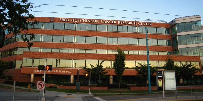 3. 1975: Fred Hutchinson Research Center opened their first home in  Seattle's First Hill neighborhood.