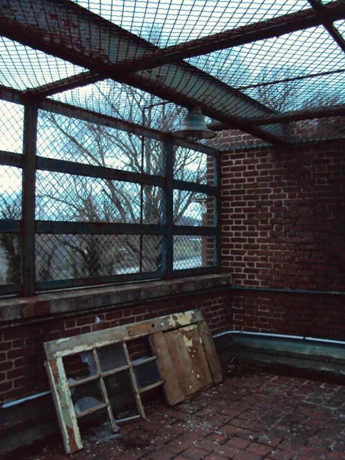 Rooftop inside