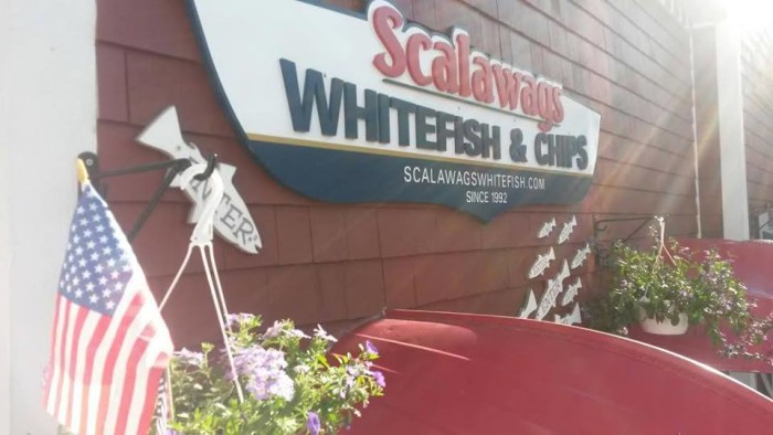 6) Scalawag's White Fish & Chips, Traverse City