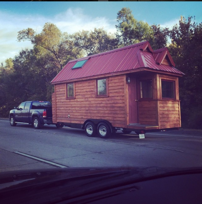 And when you're ready for a trip, just take the house on the road!