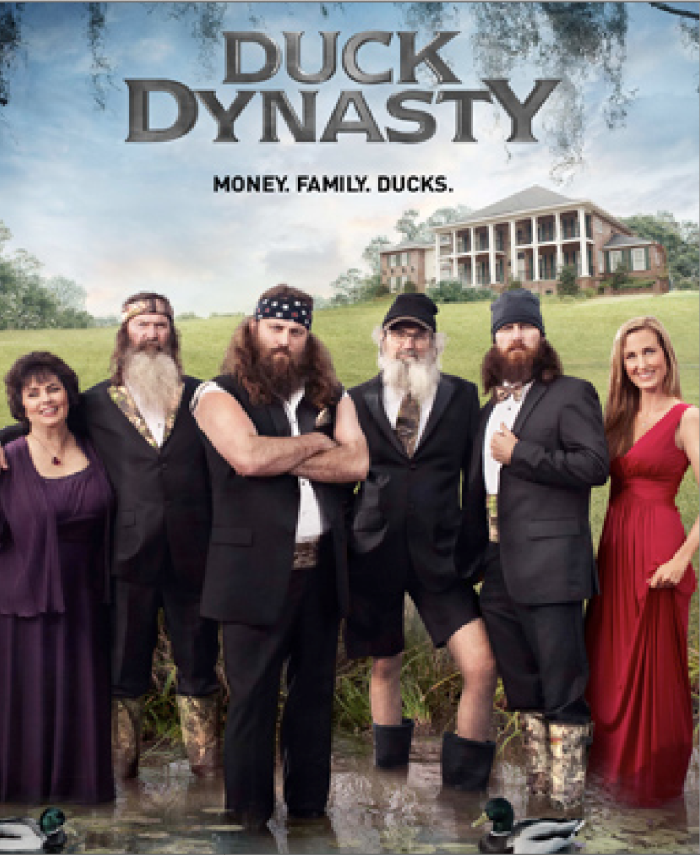 10. 2012 – Duck Dynasty, featuring a Louisiana family from Monroe and West Monroe, premieres on A&E, quickly becoming one of the most popular reality shows of all time.