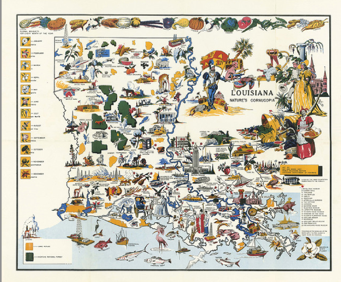 Hilarious Maps Of Louisiana - Lousiana map