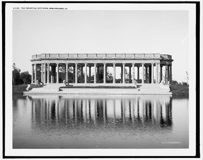 7. Peristyle in City Park, New Orleans, LA