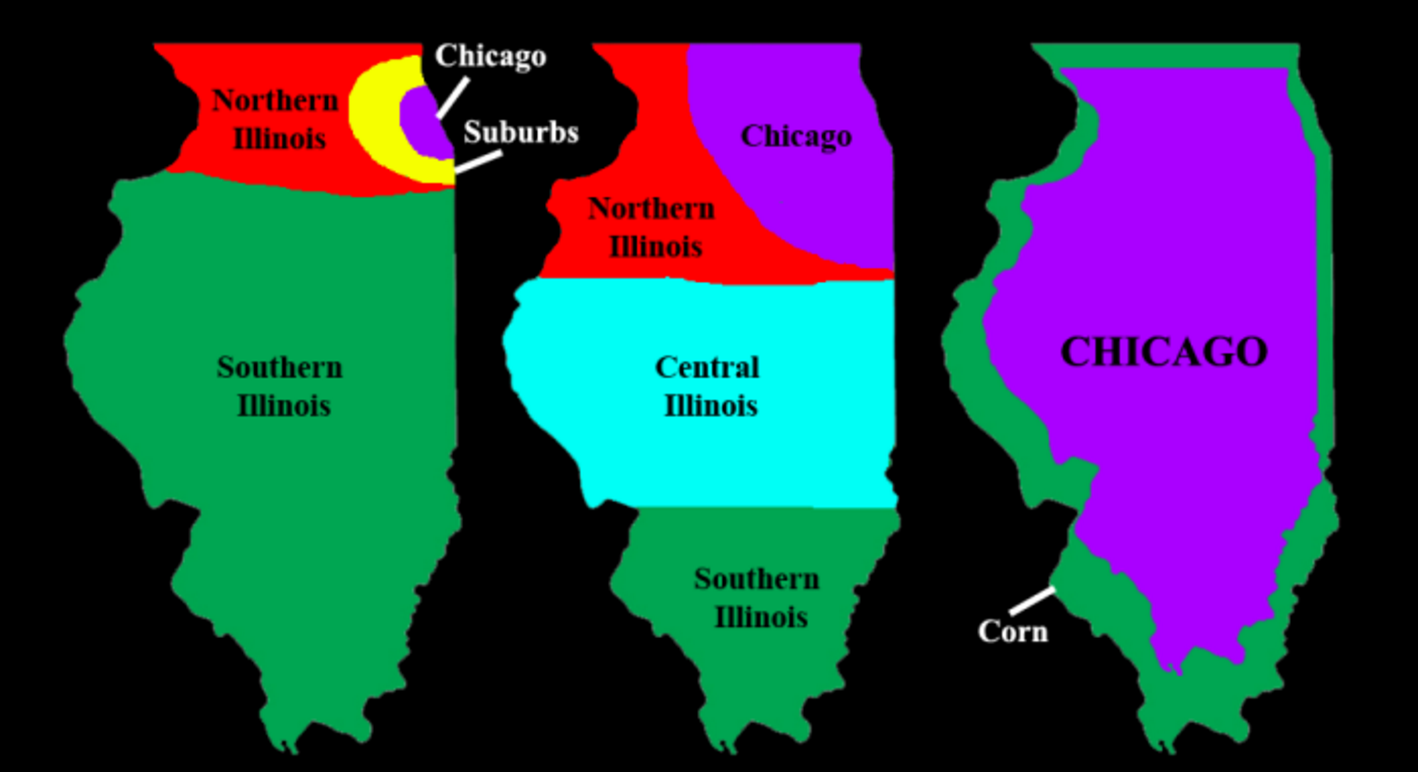 6 maps of illinois that are just too perfect and hilarious