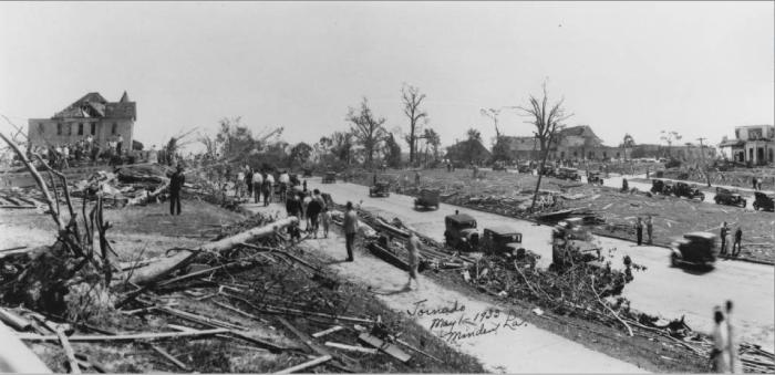 2. Minden, LA : May 1, 1933 --Most Destructive Tornado to Ever Hit Louisiana