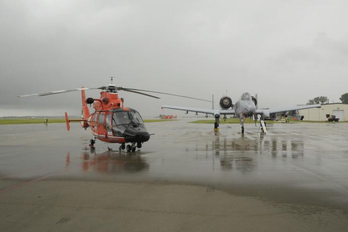 5) Selfridge Air National Guard Base