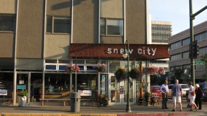 1) Snow City Cafe, Anchorage.