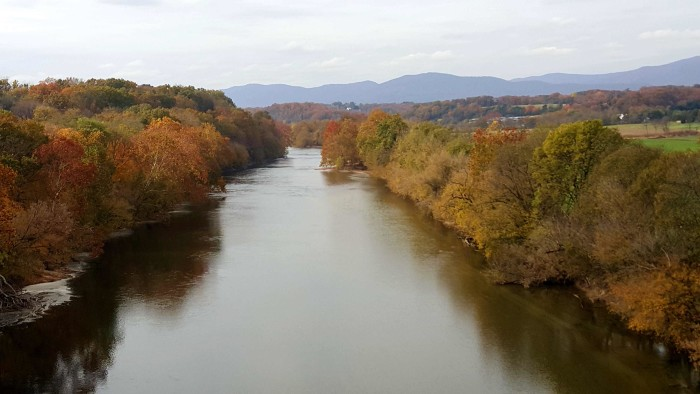 23. South Fork Bridge in Front Royal provided the perfect perch for Sandra Minett to capture the Virginia landscape.