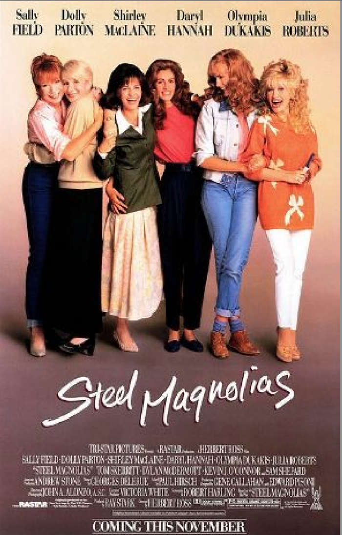 5. 1989 – Steel Magnolias filmed in Natchitoches, LA, becoming one of the most popular movies filmed in Louisiana of all time.