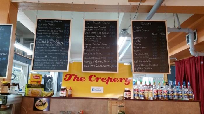 4) The Crepery, Fairbanks.