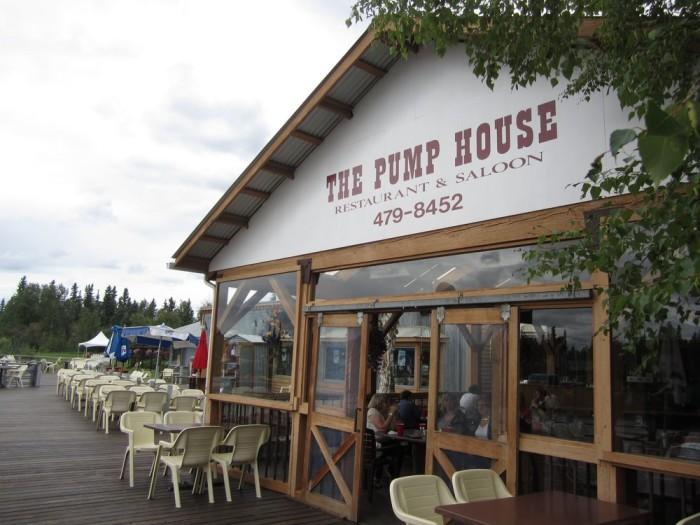 7) The Pump House, Fairbanks.
