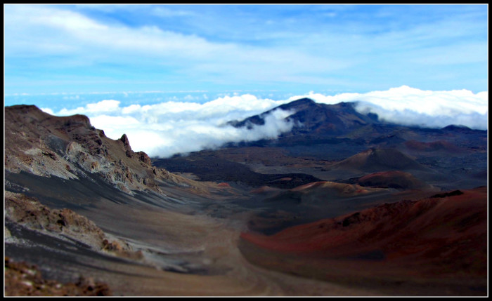 11) The views from Haleakala National Park make you feel as though you've been transported elsewhere.