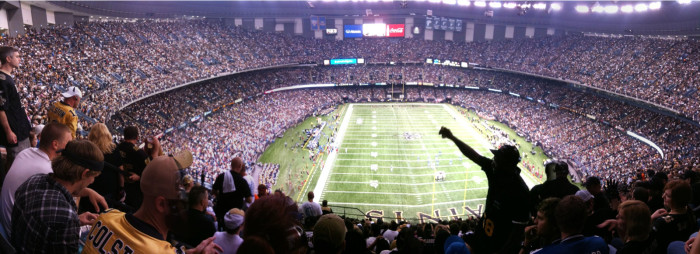 2. 1975 - The Super Dome in New Orleans is completed, with a final cost of $163,313,315 for building and grounds.