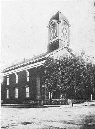 1. Here is the old Court House at Charles Town in 1906.