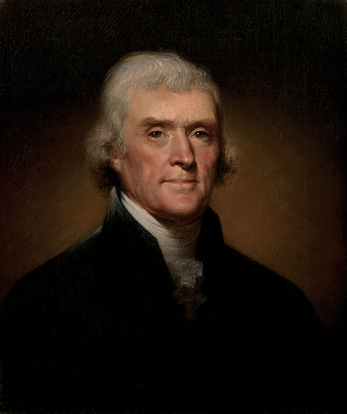 17. Speaking of which, what's up with Thomas Jefferson and Sally Hemings?