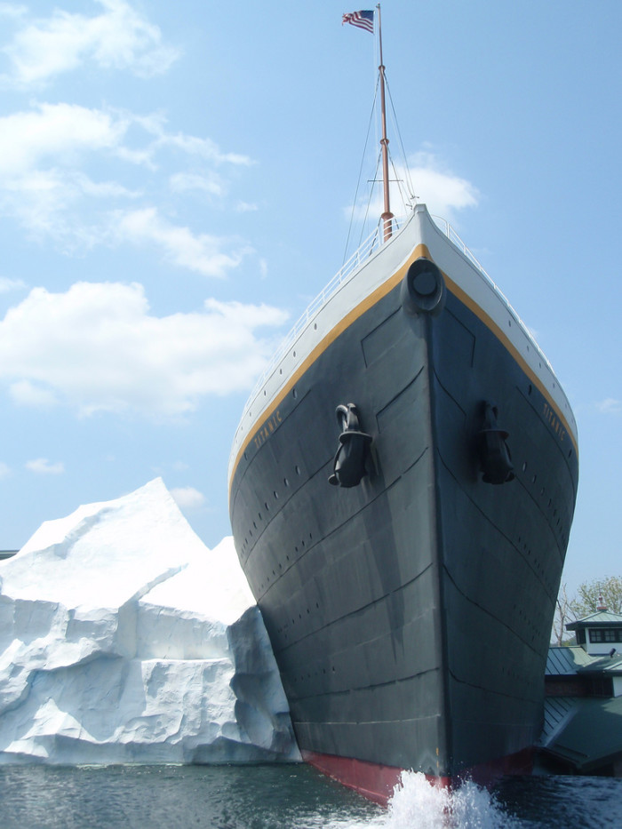 2) Titanic Musuem - Pigeon Forge
