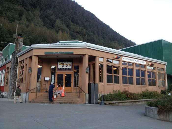 8) Twisted Fish Company Alaskan Grill, Juneau.