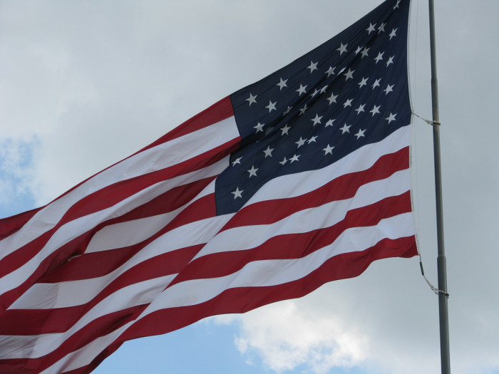 2. U.S. flags