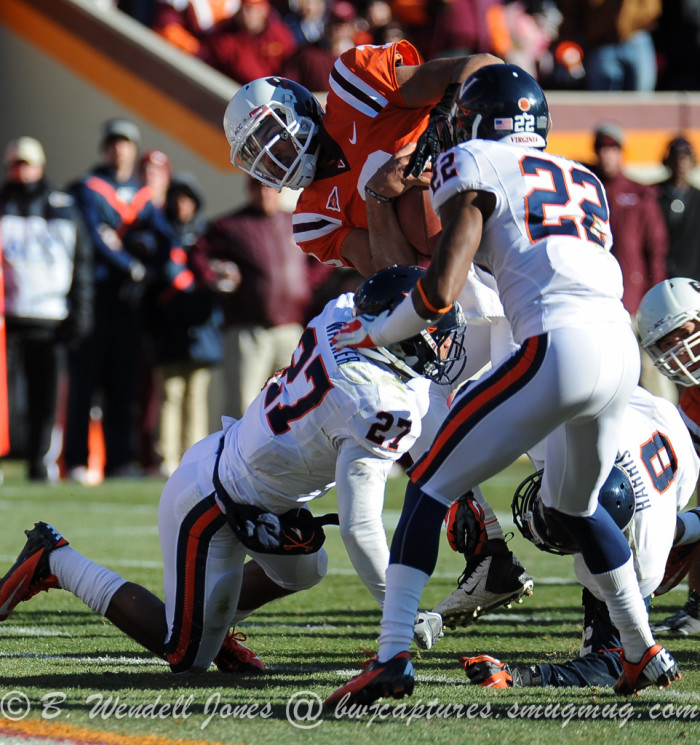 11. Watch the Hokies and Wahoos fight it out on the field.