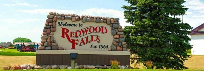 6. Redwood Falls