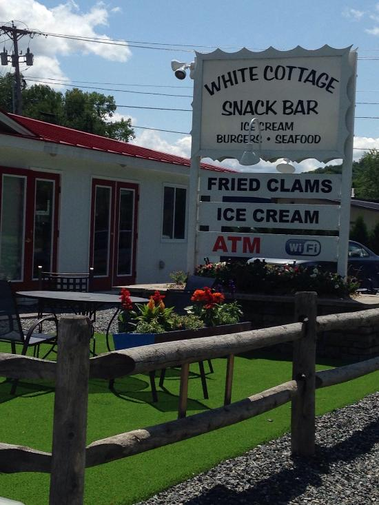 11.  White Cottage Snack Bar, Woodstock.