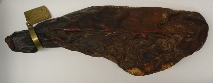 3. The World's Oldest Ham at the Isle of Wight Museum, Smithfield