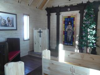 Wytheville Small Church inside