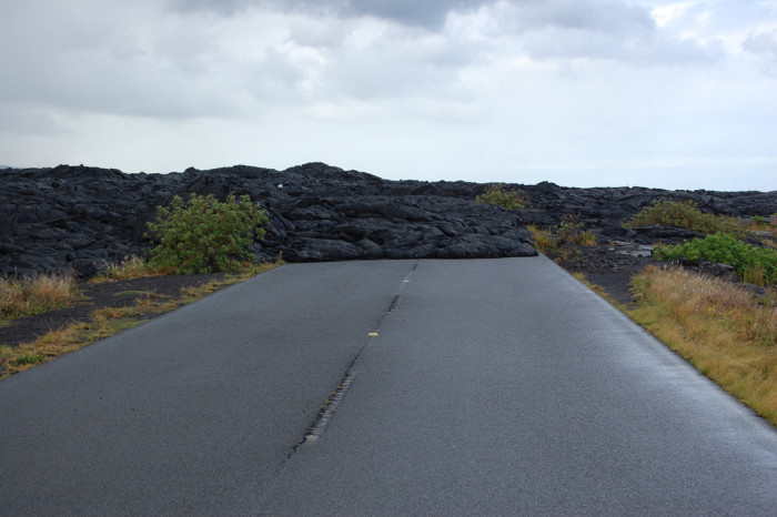 You've also got to drive the Chain of Craters Road.