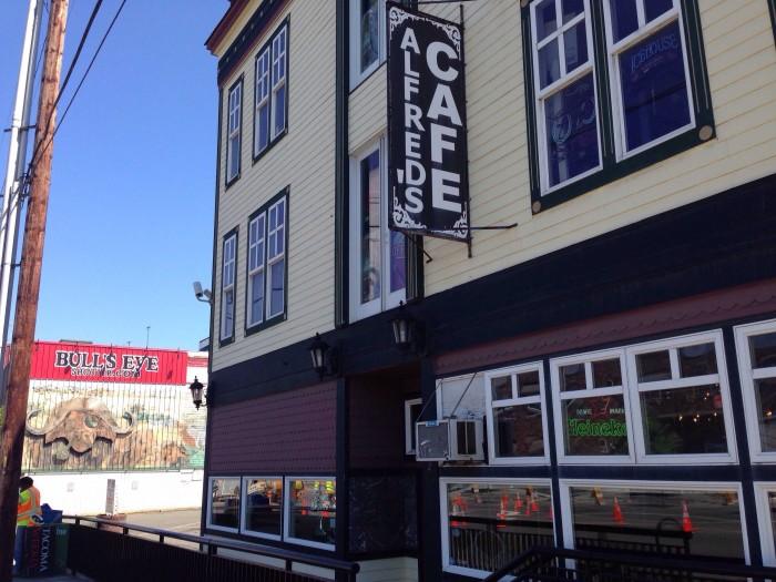 10. Alfred's Café, Tacoma