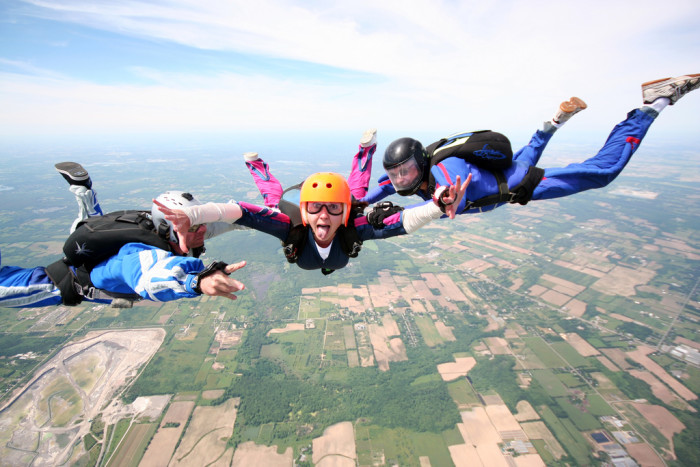 1.  Vermont Skydiving Adventures - Addison.