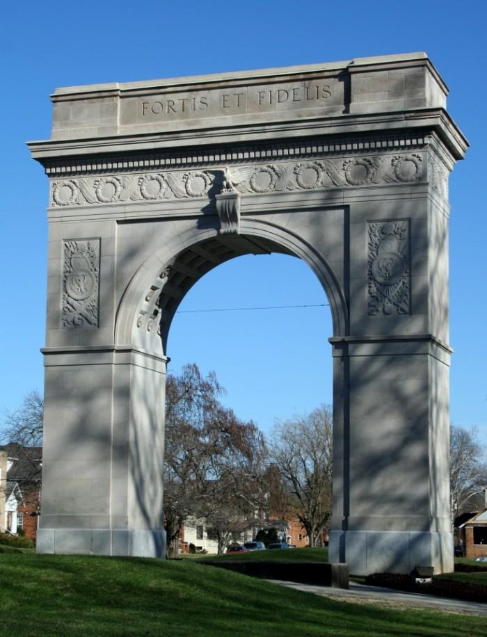 6. Huntington's arch