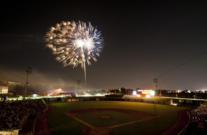 4. Arvest Fireworks