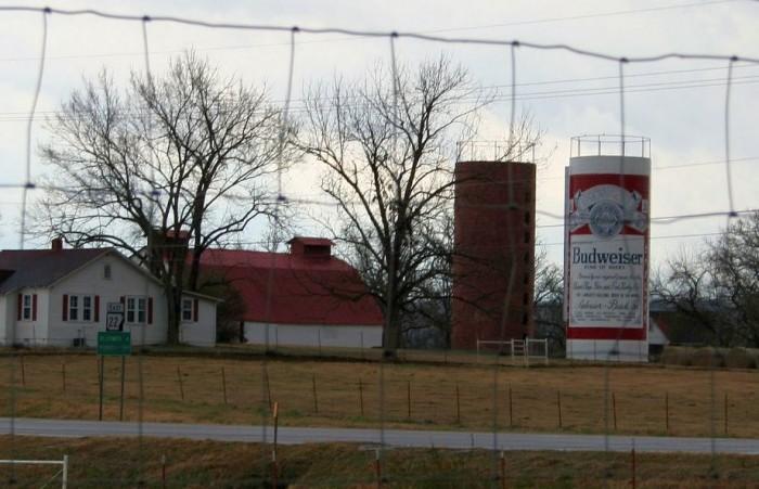 2. Budweiser Silo