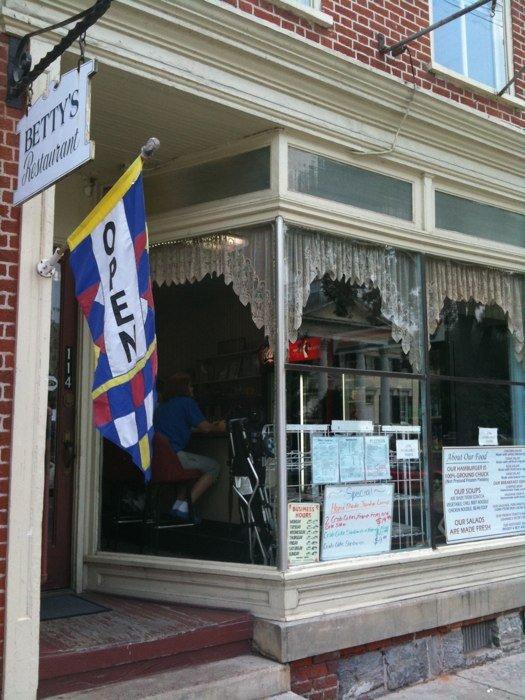10. Betty's Restaurant in Shepherdstown