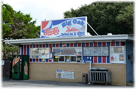 11. Big Oak Drive-In & BBQ, Salter Path