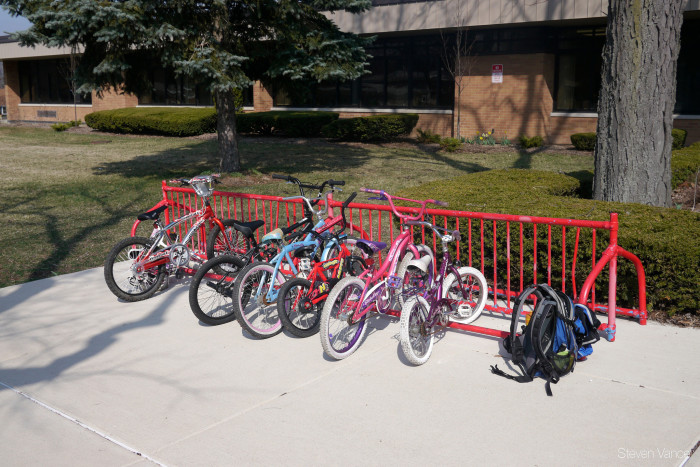 4. You can bike to school - with permission from your parents and the school.