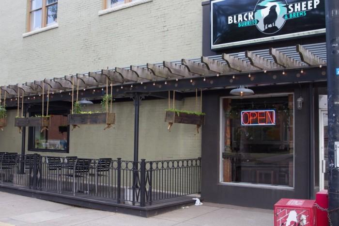 3. Blacksheep Burrito in Huntington and Charleston