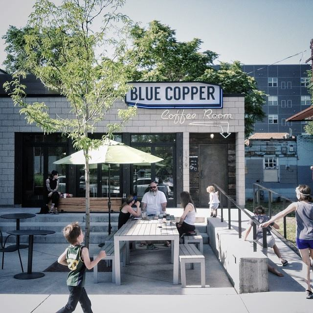 3. Blue Copper Coffee Room, Salt Lake City