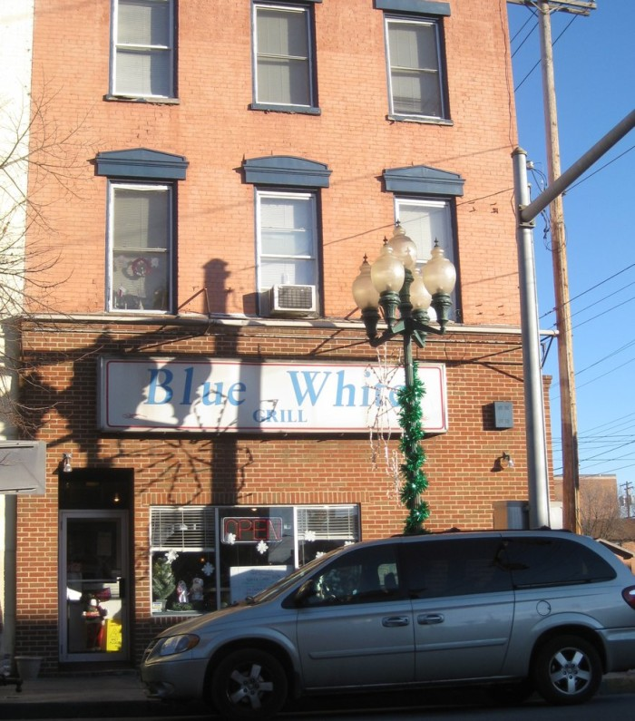 4. The Blue White Grill in Martinsburg